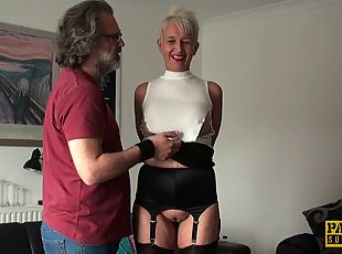 Scarla is a mature chick now but she still loves the kinky sessions