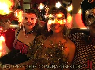 Fetish Party with Sex Slaves