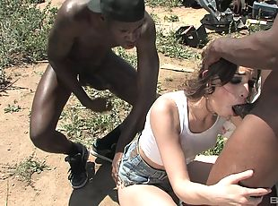 Public wife gangbang tube