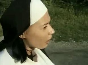 Nun& 039;s ass licking