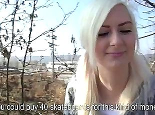 Amateur Eurobabe banged for alot of cash