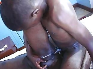 Big Cock African Boy Dominating A Tight Bottom