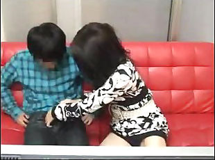 Mother and son watching porn together experiment - 4